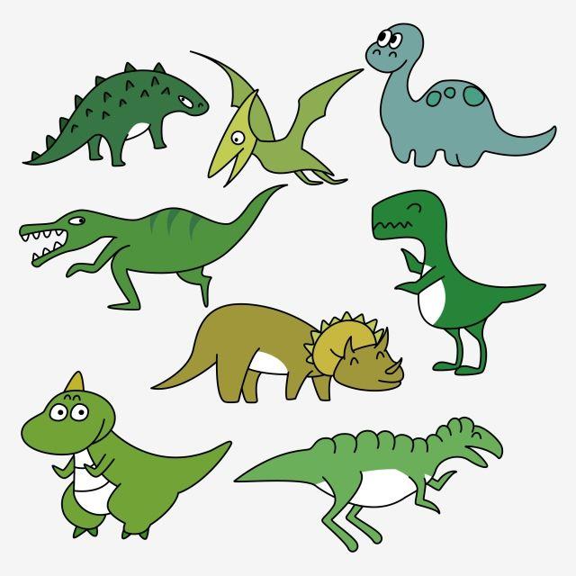 Hand Drawn Cartoon Dinosaur Cartoon Dinosaur World Cartoon Cute