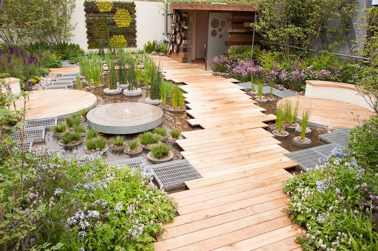 Garden Design: 7 Garden Urban Designs With Pallet And Aquaponic ...