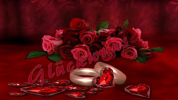 Hochzeitstag Rubinhochzeit Alles Gute Zur Rubinhochzeit