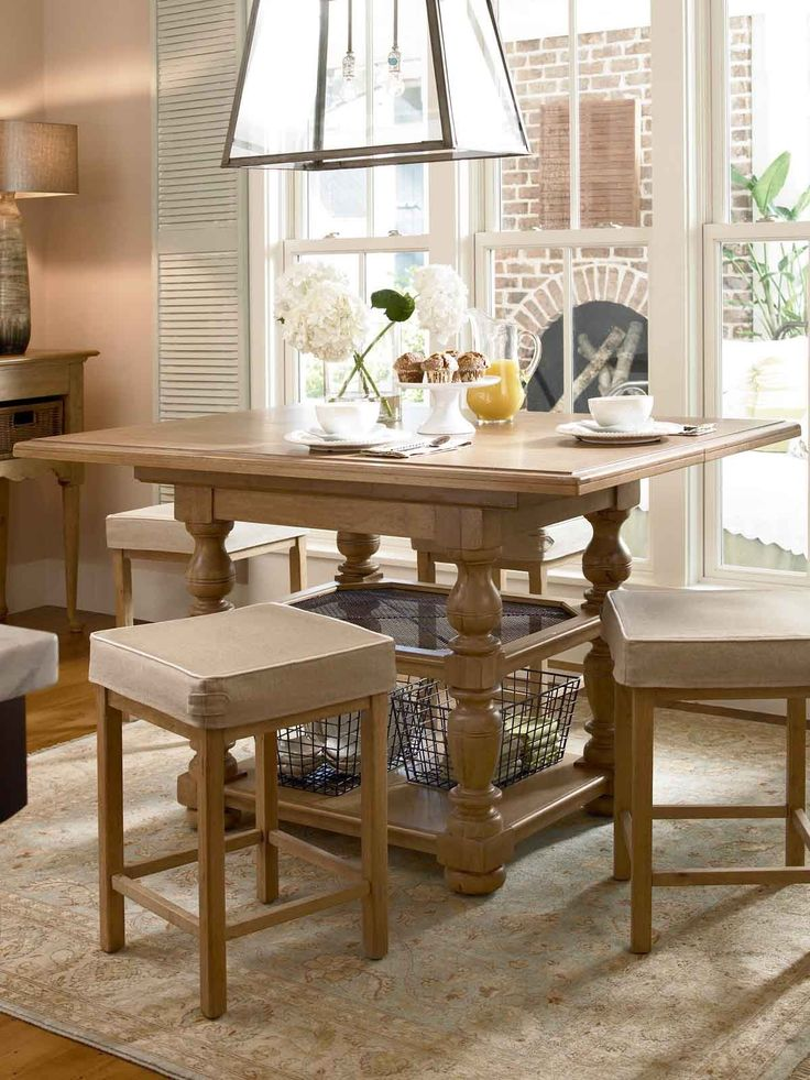 Paula Deen Furniture Outlet | Universal Furniture Paula Deen Down Home  Gathering Table In Oatmeal .