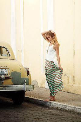 Minted Terra Skirt