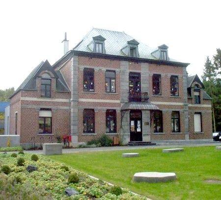 Le château Derkenne . Feignies. Nord