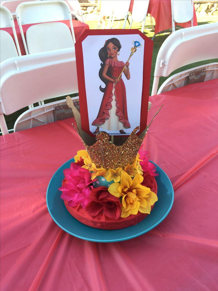 Elena of avalor birthday party diy centerpiece