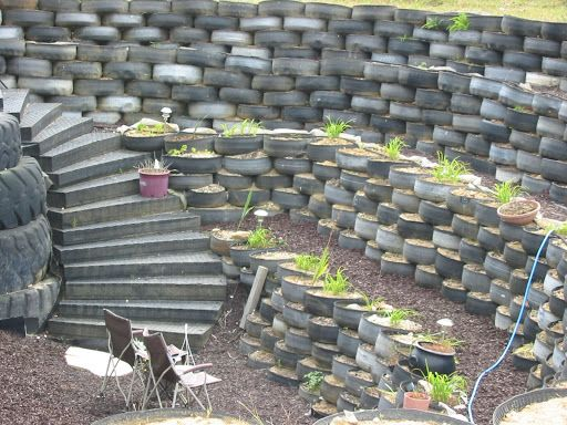 17 best ideas about tire garden on pinterest tire planters tires ideas and old tire planters - Garden ideas using tyres ...