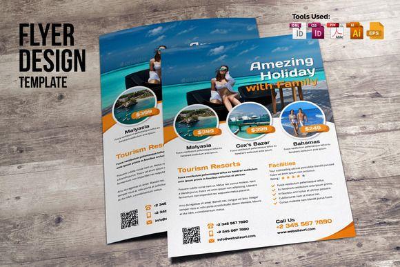 Multipurpose Flyer Design by Miyaji75 on @creativemarket