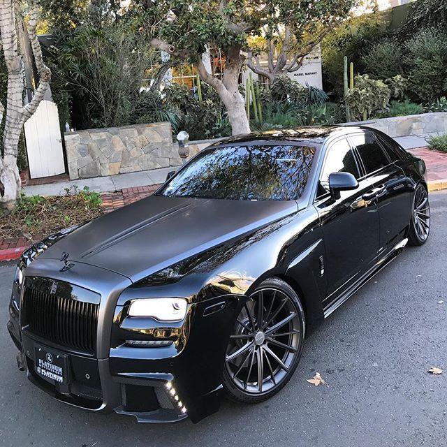 Instagram media by platinum_group - . #WALD Black Bison II @RollsRoycecars Ghost world premier. Seen here first! Stay locked for full details.  Commissioned in Proper Form  #PML #PML2017 #PLATINUMGROUP #PLATINUMMOTORSPORT #PMLEXCLUSIVES Info@platinummotorsport.com