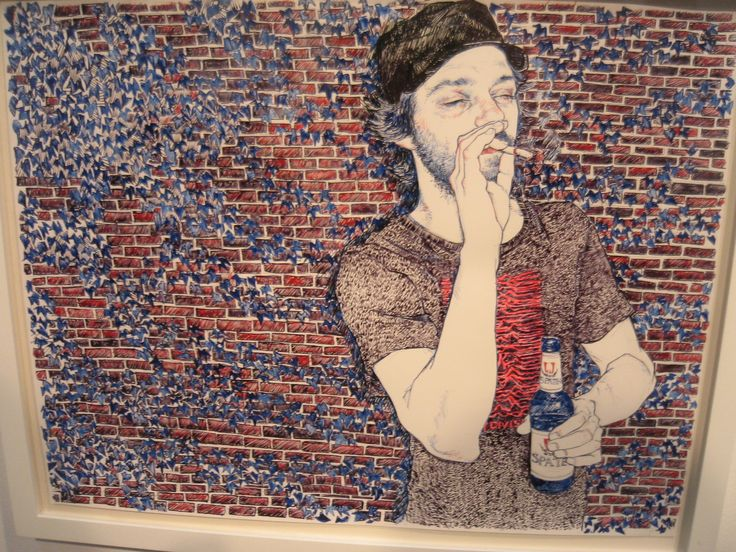 hope gangloff artist   Documenting white hipsterdom. Man I wish I could be part them.