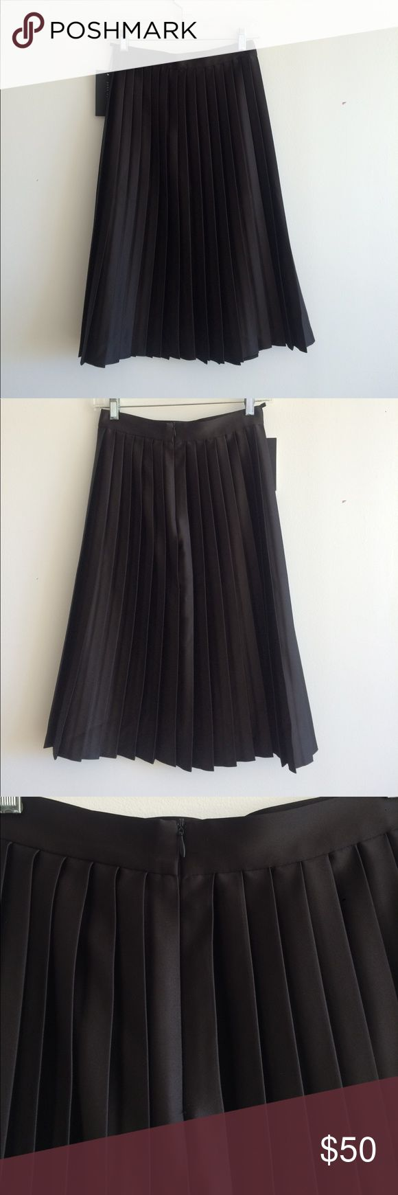17 best ideas about black pleated skirt on