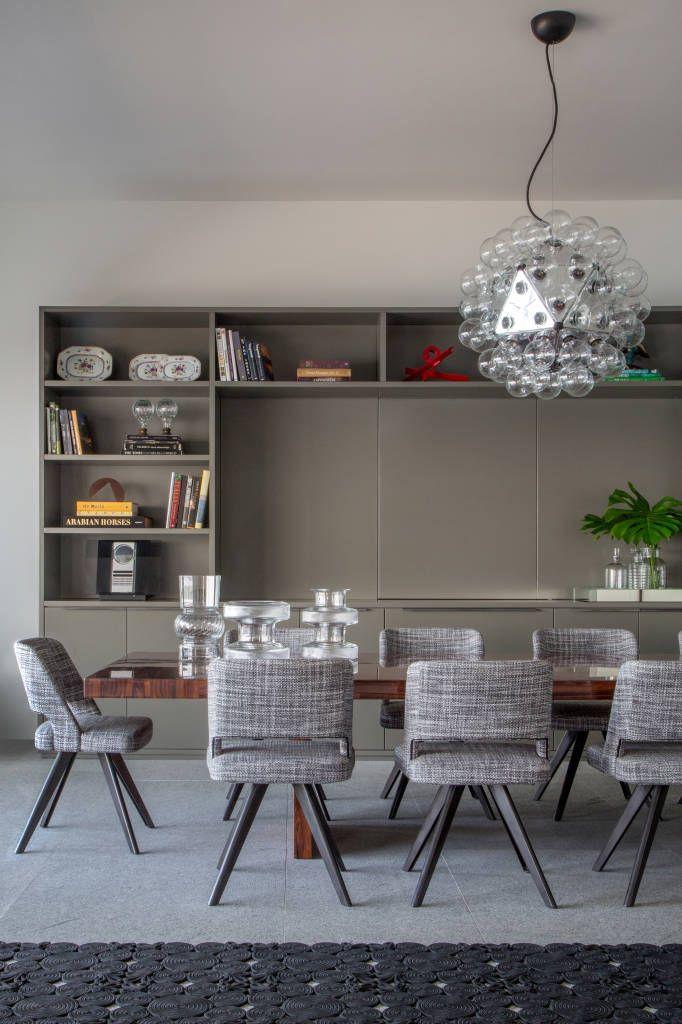 Fotos de Salas de jantar Moderno: Apartamento Delta                                                                                                                                                                                 Mais
