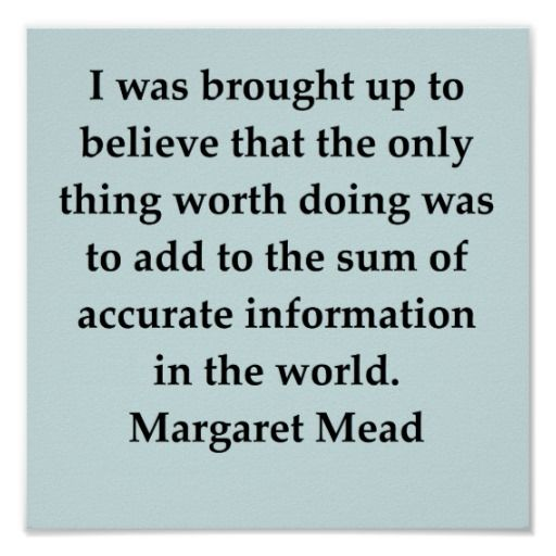 Quote - Margaret Mead