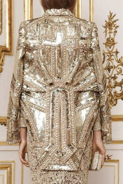 Givenchy by Janny Dangerous. Learn how to embroider to fashion industry standard from experts who work for Chanel, Louis Vuitton and more at https://www.mastered.com/course-listings/3