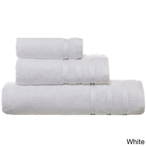 Vera Wang 3-piece Twill Stripe Towel Set