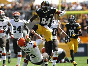 fantasy football wr rankings antonio brown