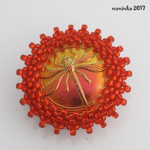 Vážka orange