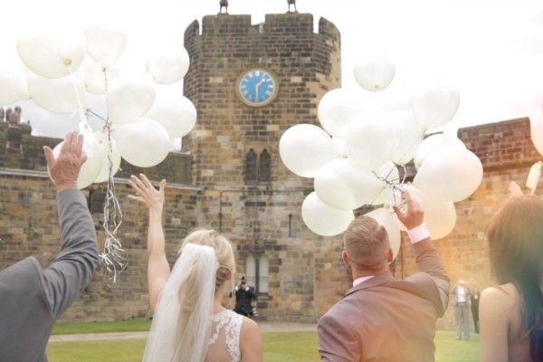 Anna + Adam married at the wonderful Alnwick Castle in Northumberland. Here's their wedding trailer...