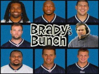 Tom Brady's Brady Bunch. The New England Patriots. #bostonusa