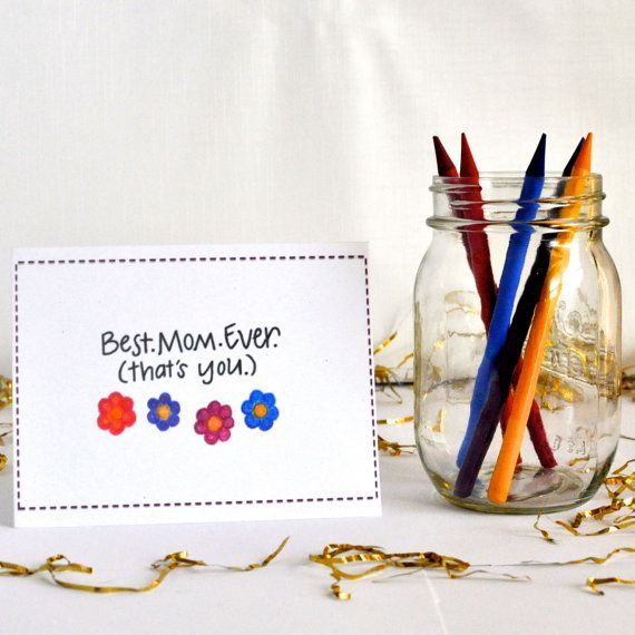 80 best mothers day cards images on pinterest mothers day best mom ever mothers day card mom birthday by melissacolors bookmarktalkfo Images