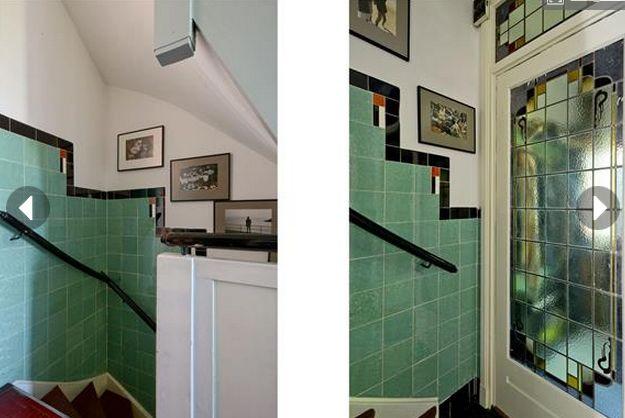 17 beste afbeeldingen over carrelage et restauration op pinterest art deco badkamer scholen - Deco hal binnenkomst huis ...