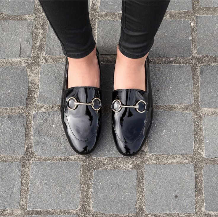 Perfect preppy style with the Miss Sofie Skye loafer in black. Shop: https://www.shoeconnection.co.nz/womens/shoes/flats/miss-sofie-skye-leather-loafer?c=Black