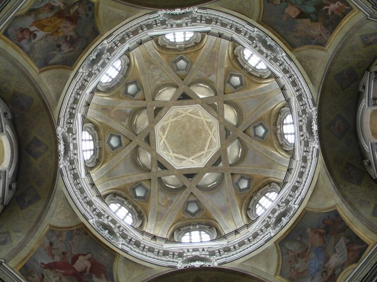 Dome  of  Saint  Lawrence  in Turin Italy photo  by luigi  rabellino