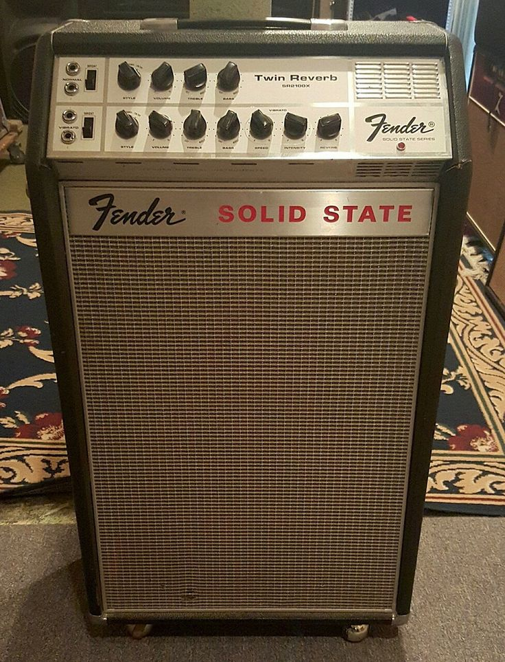 late 60s fender solid state twin reverb vintage gear in 2019 fender guitar amps bass amps. Black Bedroom Furniture Sets. Home Design Ideas