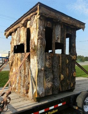 5 Free homemade deer blind plans Ideas | Home And House Design Ideas