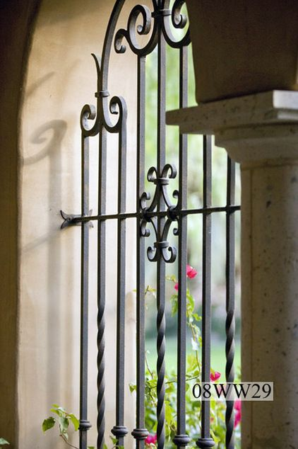 Wrought Iron Window Grills Courtyard Charm Pinterest