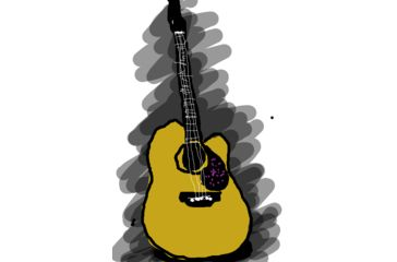 Old guitar in my room. didl by chobitchob http://didlr.com/vdycKx via didlr: http://pinterest.com/didlr