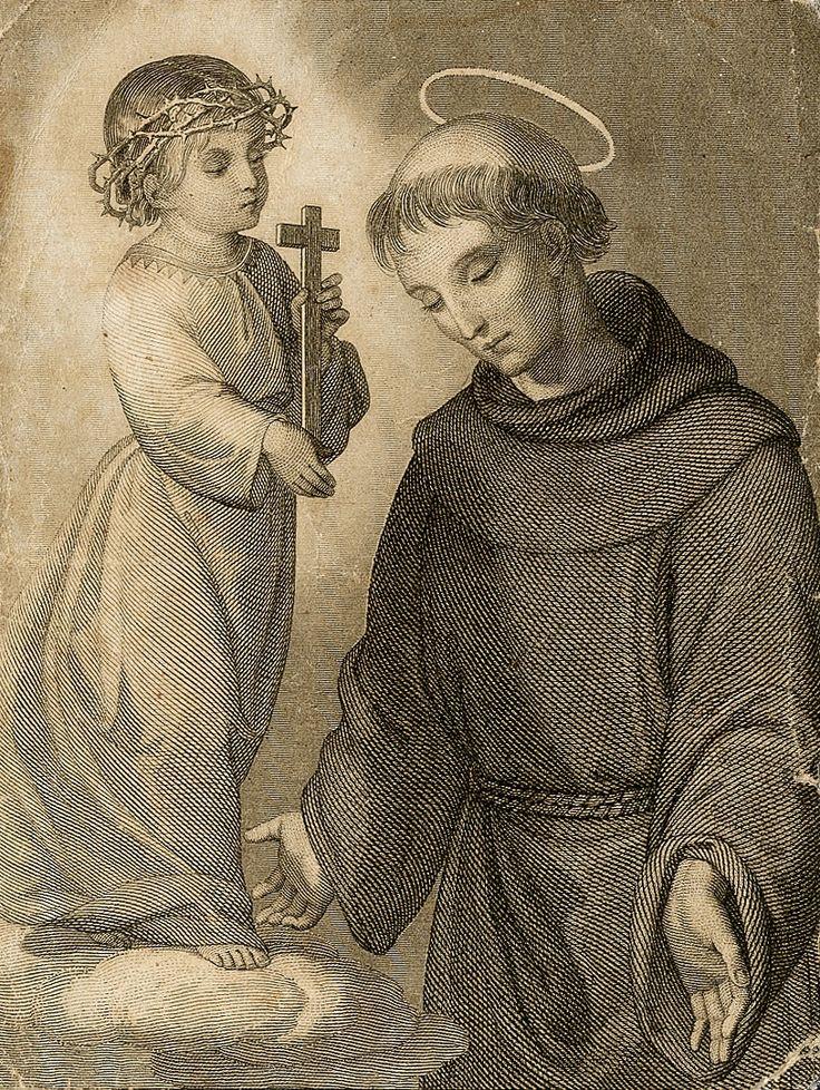Svatý Antonín Paduánský - Saint Anthony of Padua - Antonio di Padova