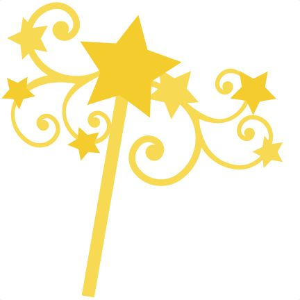 Star Wand SVG file for scrapbooking cardmaking wand svg cut file wand cut fie for scal