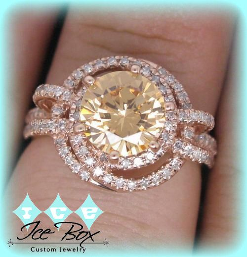 Hey, I found this really awesome Etsy listing at https://www.etsy.com/listing/213527562/rare-round-champagne-morganite