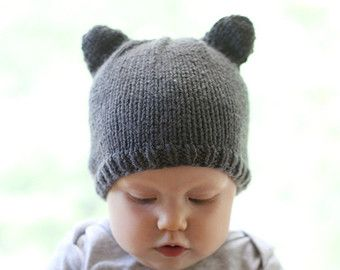 Whether youre going to market or staying home, the Little Pig Hat Knitting Pattern is the perfect hat pattern for your little piggie. Its one of my most popular and most commented-on patterns and thats probably because its so adorable! I hope you love it as much as I do. (note: I cannot be held responsible for damage to houses from huffing and puffing as a result of wearing this hat, I suggest rebuilding with brick instead of straw or sticks!)  -pig hat pattern, little pig hat, baby pig hat…