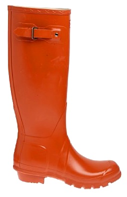 Orange Wellies  - love orange
