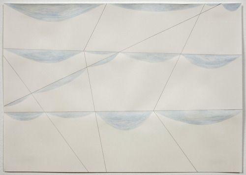 Louise Hopkins  Blue Watercolour [2012] Watercolour and pencil on paper 21 x 30 cm