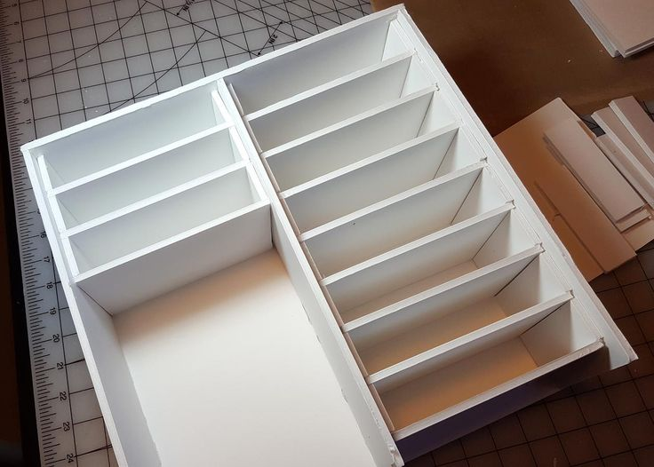 Hi everyone! A while back I posted photos of an ink pad storage unit that I made out of foam board to fit into my Expedit shelving from I...