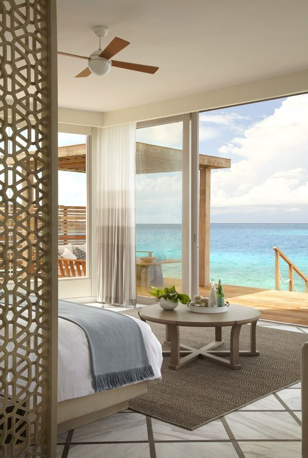 No not a hotel room..but a spectacular Beach home