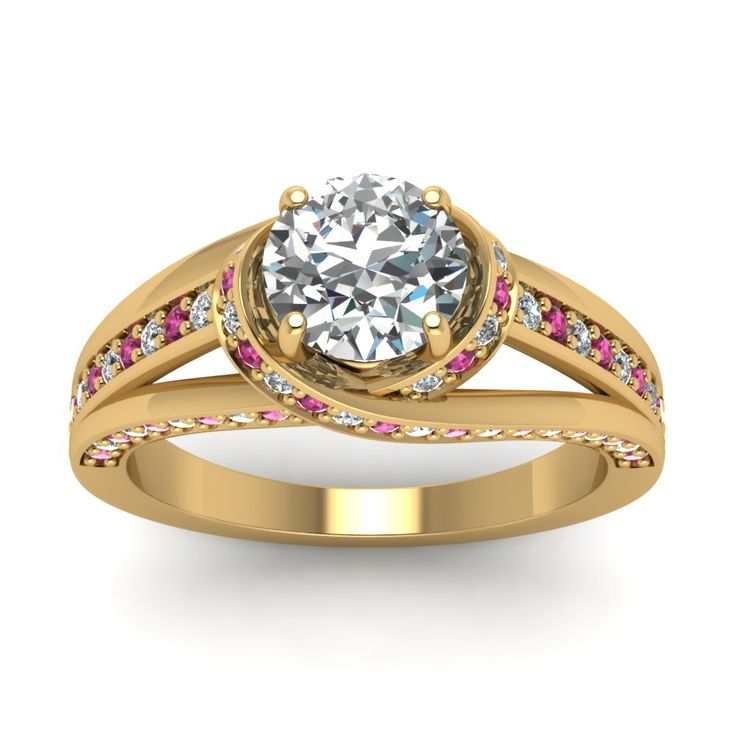 Venetian Engagement Ring