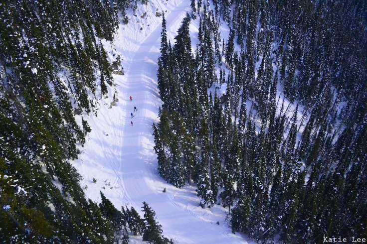 Skiing, Whister, Canada.