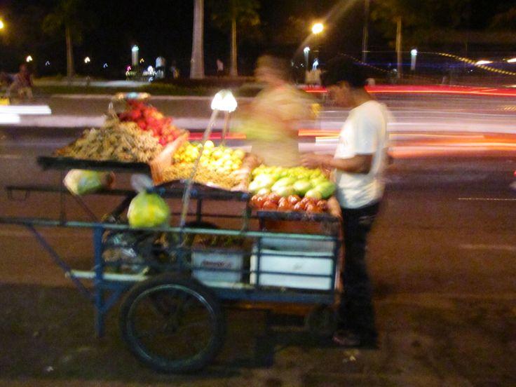 Food cart, phnom penh