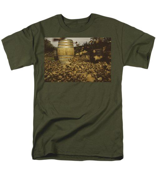 Fall In The Garden T-Shirt by Cesare Bargiggia