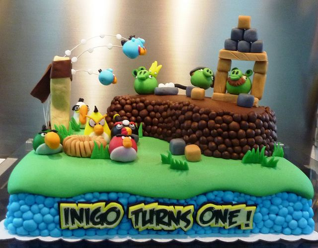 Angry Birds Cake Decorating Community Cakes We Bake Picture cakepins.com