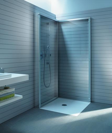 OpenSpace Ist Die Innovative Duschtrennwand Von Duravit, Die Das Bad  Vergrößert. Sie Kann Einfach Zur Seite Geklappt Werden Und Ist So Besonders  ...