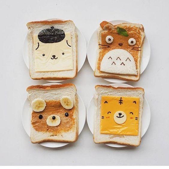 Tostadas infantiles: ideas geniales para los desayunos | Fiestas y Cumples