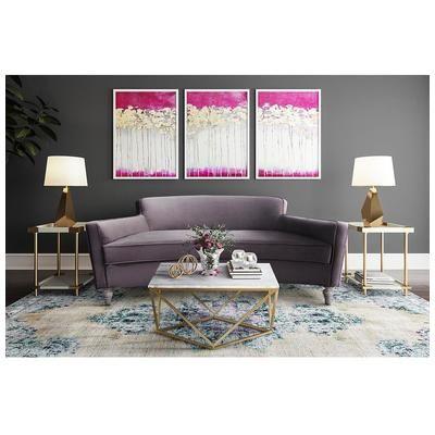 Tov Furniture, TOV-L6108, Sofas And Loveseat, Tov Furniture Oslo Grey Velvet Sofa Tov L6108