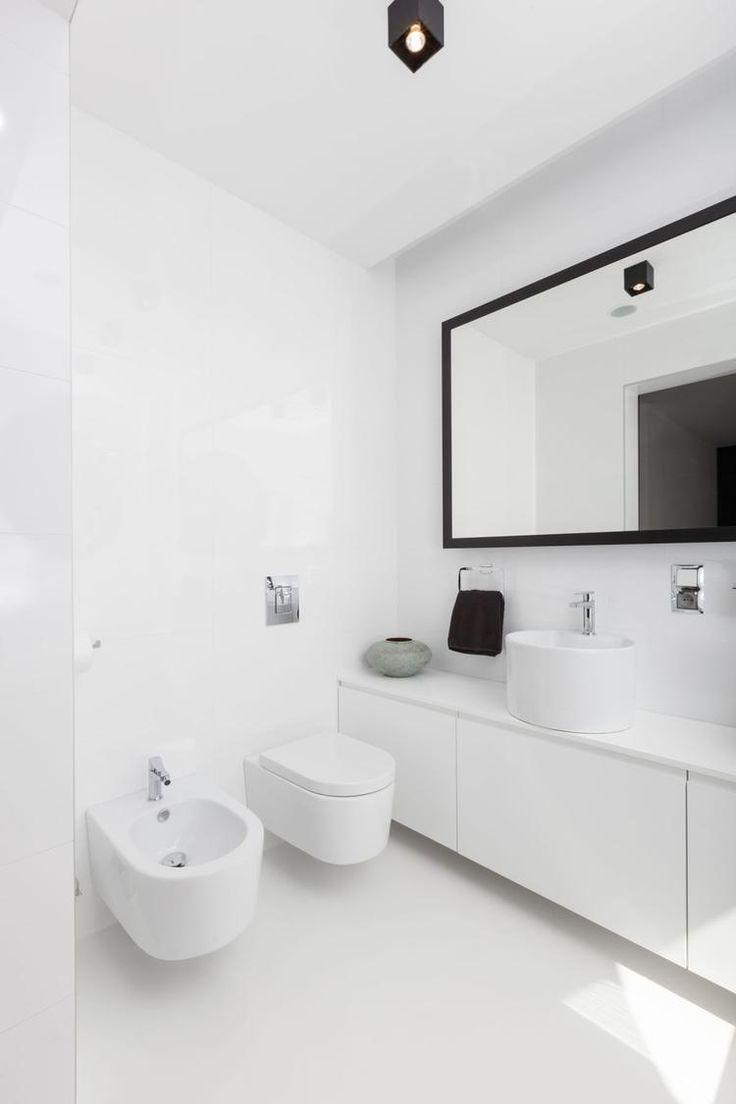 biały marmur biel czern lazienka - Szukaj w Google
