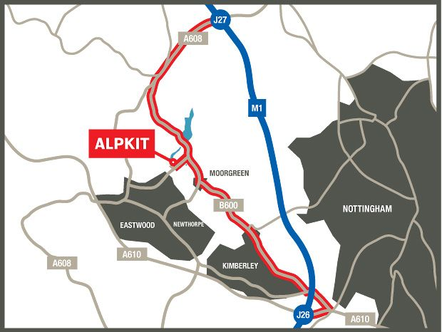 Alpkit's showroom is open Mon-Fri 9-5.30pm come and say hello!