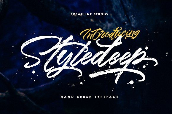 Styledeep by Breakline Studio on @creativemarket
