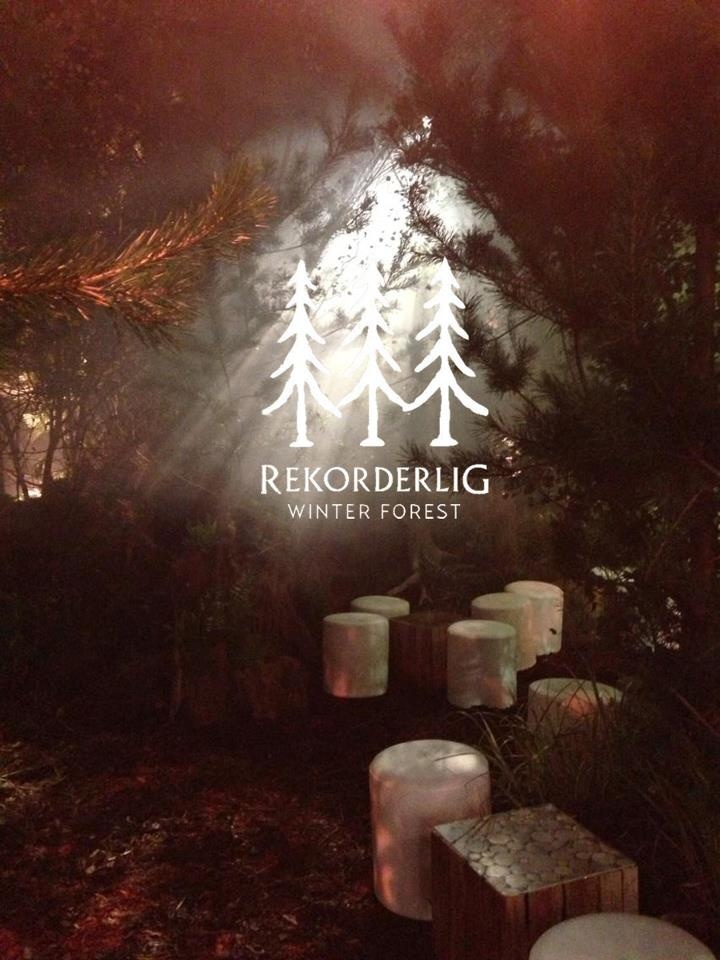 Rekorderlig Winter Forst magical pop up in the Old Truman Brewery.