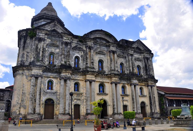 Basilica de San Martin de Tours is the largest church in Asia at 291 feet long and 157 feet wide and is located in Taal Batangas.