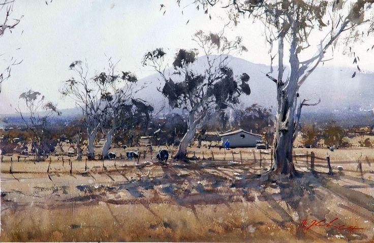 Joseph Zbukvic - This is how Australian rural landscape looks like ..
